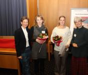 Landrätin Marion Dammann mit der Diabetes-Selbsthilfegruppe Rheinfelden