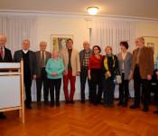 Norbert Dietrich (links) mit dem Freundeskreis Pro Asyl