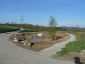 Neugestaltung des Mägdebrünnleins, ein Projekt der Entente Florale