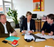 Hanspeter Schuler, Birgit Hehl und Peter Grimm