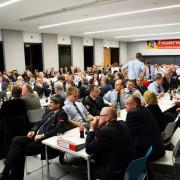 Feuerwehrhauptversammlung im Campus-Gebäude