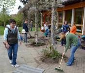 Gartenputztag im Kunterbunt