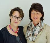 Renate Goman und Elke Keser zeigen Präsenz.