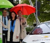 Werner Zehetner, Rita Schwarzelühr-Sutter und Oberbürgermeister Klaus Eberhardt