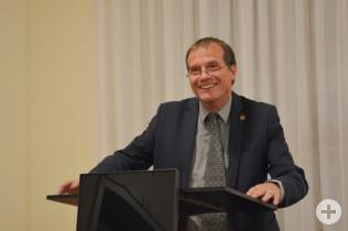 Oberbürgermeister Klaus Eberhardt