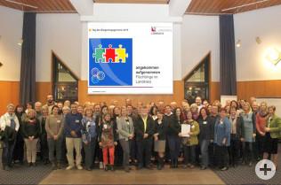 Alle Vertreter der ausgezeichneten Projekte am Tag des Ehrenamtes