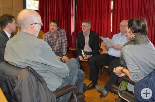 Workshop der Führungskräfte