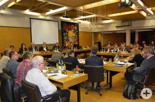 Gemeinderatssitzung am 17. Dezember