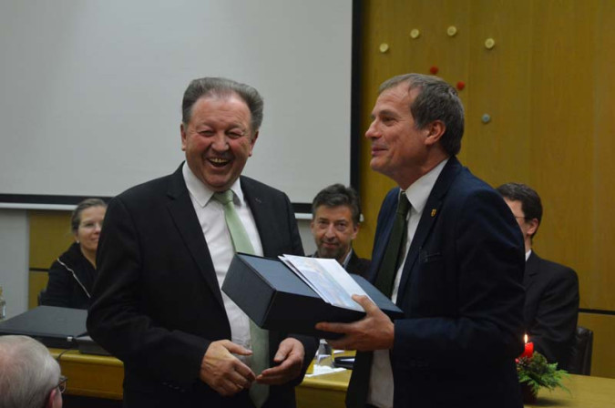 Stadtrat Paul Renz gehört seit 45 Jahren dem Gemeinderat an.