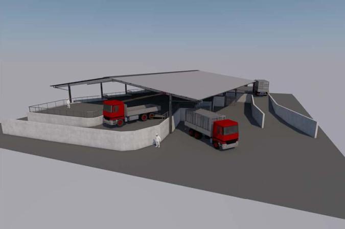 So ungefähr wird der geplante Neubau aussehen.