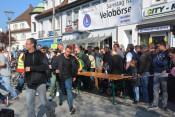 Punkt 10.30 Uhr beginnt der run auf die Räder der Velö-Börse.
