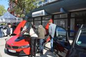 Der BMW war der Hingucker auf der Mobilitätsmeile.