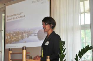 Projektleiterin Ursula Philipps vom Stadtbauamt