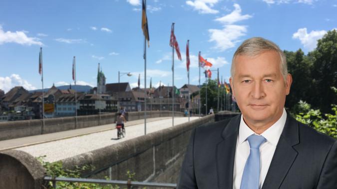 Moderator Dieter Fritz wird am Samstag live aus Rheinfelden berichten.