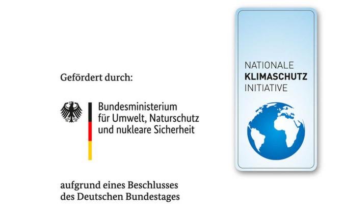 Logo des Bundesministeriums für Umwelt, Naturschutz und nukleare Sicherheit sowie der Klimaschutzinitiative des Bundes
