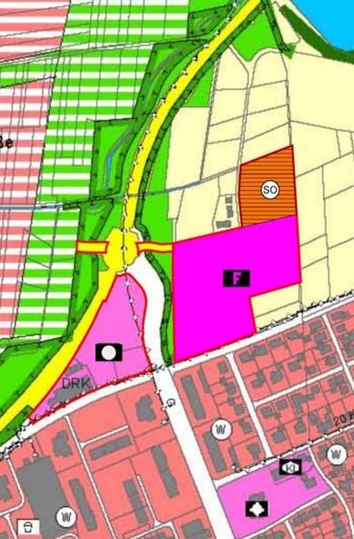Flächennutzungsplan-Teiländerung: Feuerwehr Römerstraße