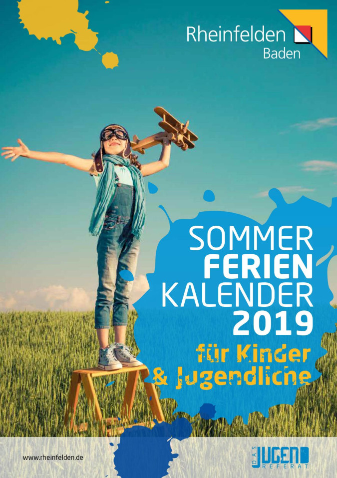 Cover des Sommerferienprogramms 2019