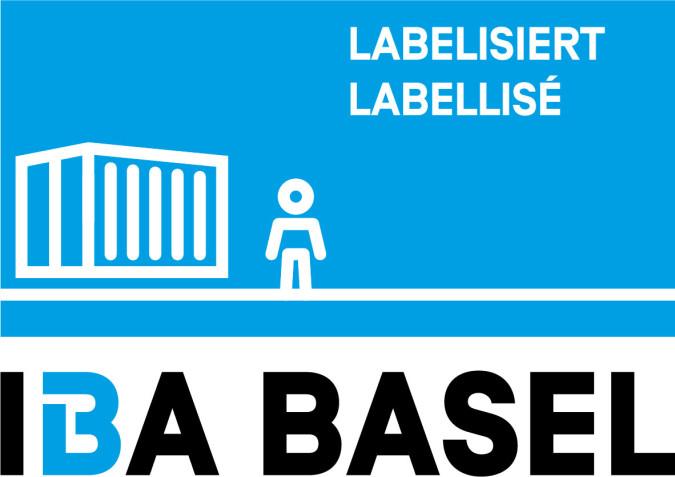 Logo IBA Basel Freiraumkiste labellisiert