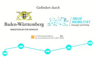 Logos Land Baden-Württemberg und Neue Mobilität