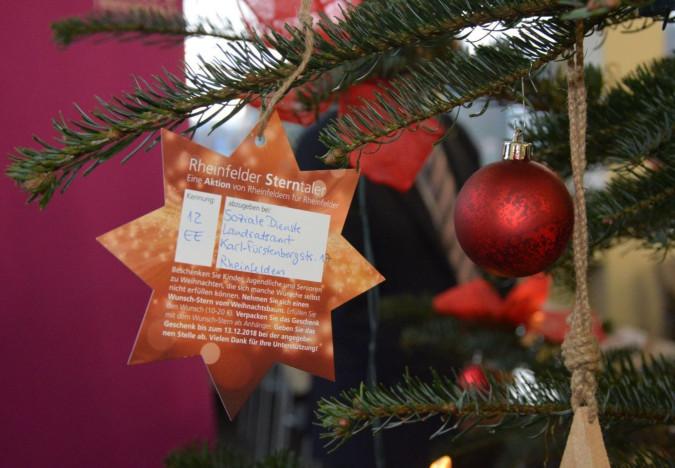 """Pünktlich zum ersten Advent startet wieder die Weihnachtsaktion """"Sterntaler""""."""