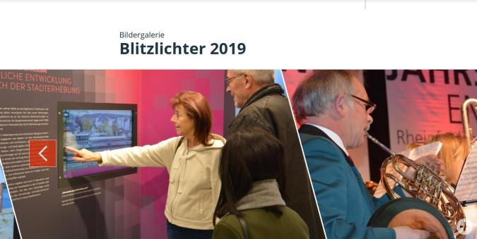 Blitzlichter 2019: Kleine Jahresrückschau