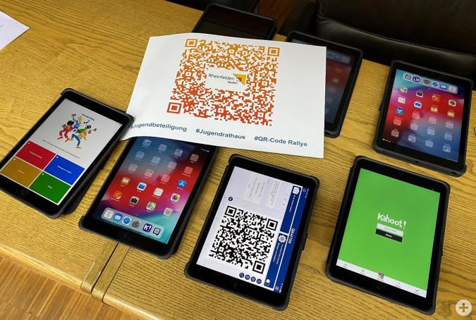 Die iPads für das Jugendrathaus