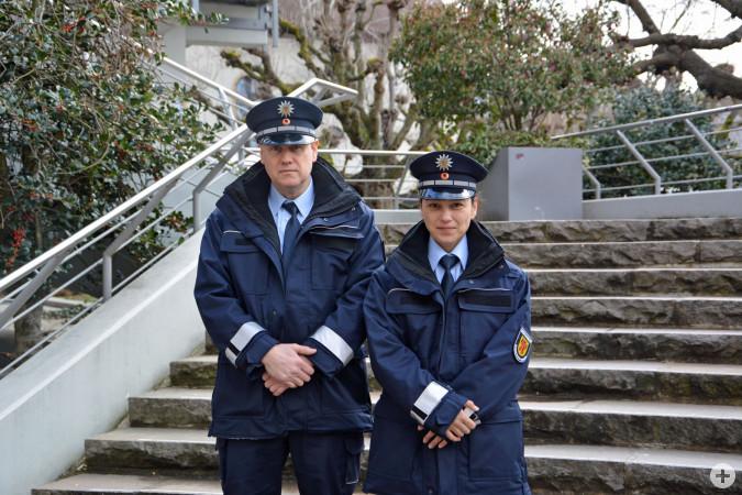Wir sind für Sie da! - Das Team des Rheinfelder Ordnungsdienstes.