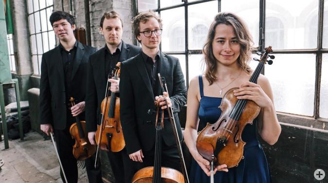 Das Eliot Streichquartett eröffnet die neue Saison der Meisterkonzerte in Rheinfelden (Baden).