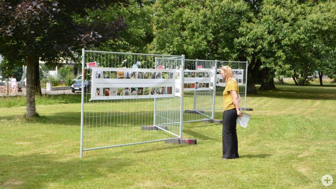 Fotomarathon Freiluftausstellung bis Ende Juli im Herbert-King-Park.