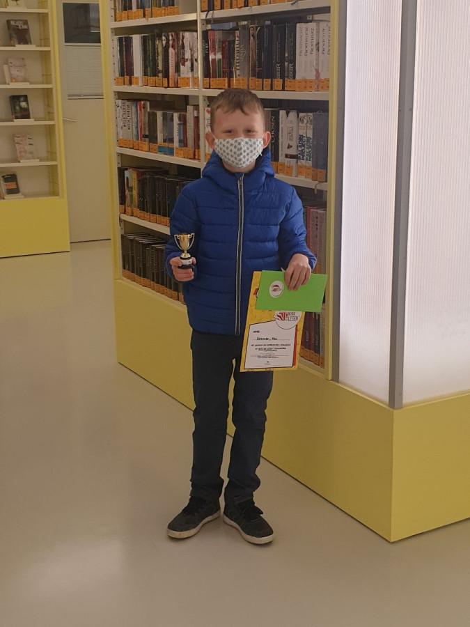 Gewinner Heiß auf Lesen: Kai Sommer mit 136 Büchern.