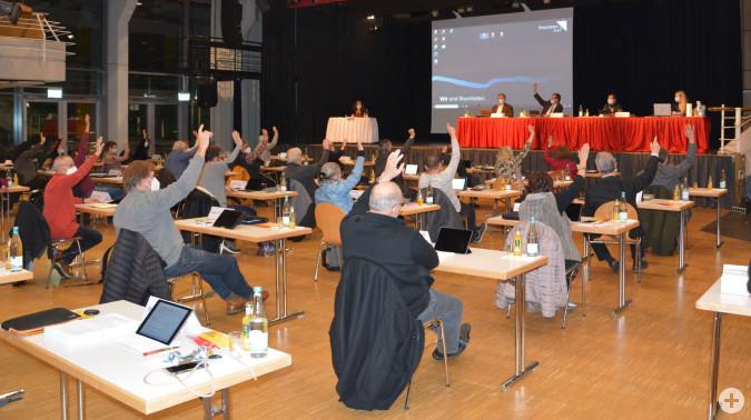 Der Gemeinderat verabschiedete einstimmig den Haushaltsplan 2021.