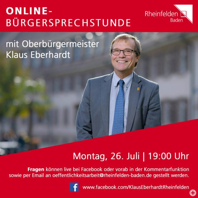 Online Bürgersprechstunde