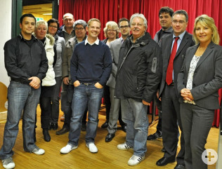 Teilnehmer am ersten Vorbereitungstreffen für die Regio-Messe 2012