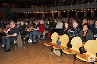 Der Bürgersaal war zur Filmpremiere gut besucht.