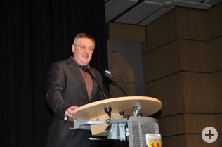 Claudius Beck dankte dem Filmemacher Gusty Hufschmid.