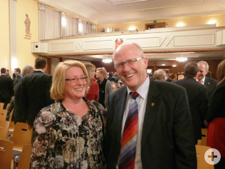 Bürgermeister Rolf Karrer war auch zum Neujahrsempfang gekommen.