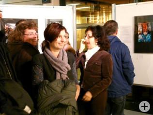 Vernissage der Fotoausstellung