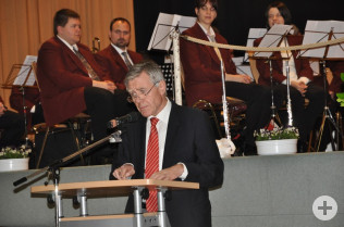 Oberbürgermeister Eberhard Niethammer