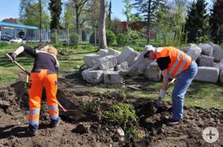 Neugestaltung der Grünanlage an der Cesar-Stünzi-Straße