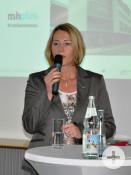 Claudia Bäumle bei der Begrüßung