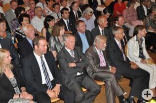 Felix Schreiner, Peter Straub, Alfred Winkler und Armin Schuster