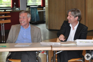 Eberhard Niethammer und Stefan Kamm
