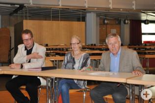 Erik Fiss, Isolde Britz und Eberhard Niethammer