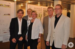 Stefan Kamm, Hans Krusche, Birgit barth, Karlfrieder Schmidt und Erik Fiss