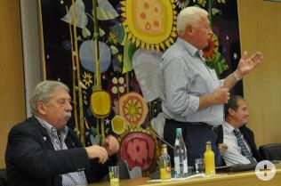 Erich Blatter (rechts)