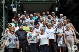 Gruppenbild mit den Neumarkter Senioren