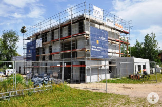 Rohbau des neuen Jugendhauses