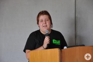 JuPa-Vorsitzende Monika Reichle