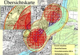 Gefahrenkreise in Rheinfelden (Baden)
