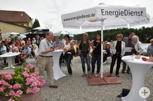 Prämierung des Stadtgrünwettbewerbs auf der DIGA im Schloss Beuggen